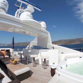 Sunseeker superyacht charter Barracuda Red Sea