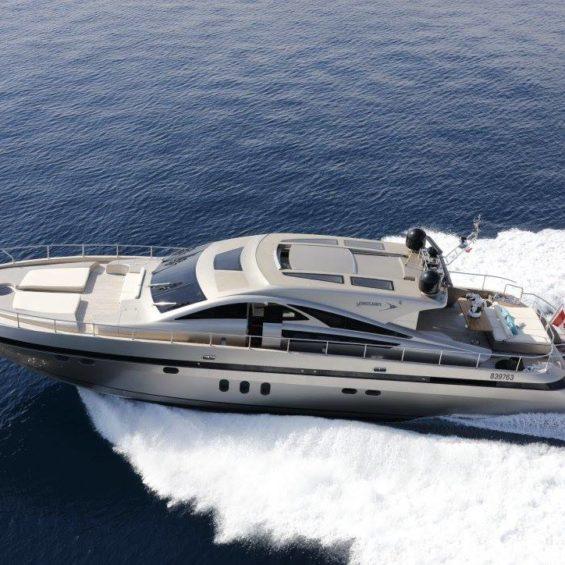 Jaguar 80 yacht charter France