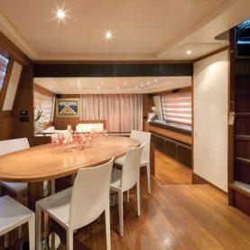 Yacht Jurata interior