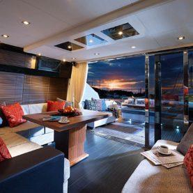 French Riviera yacht charter Sunseeker