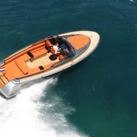 Luxury superyacht tender Wajer 38