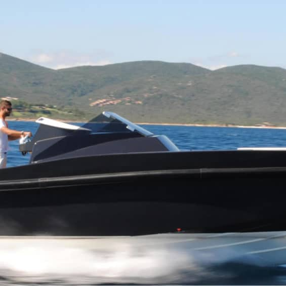 Maori 37 super yacht tender for hire