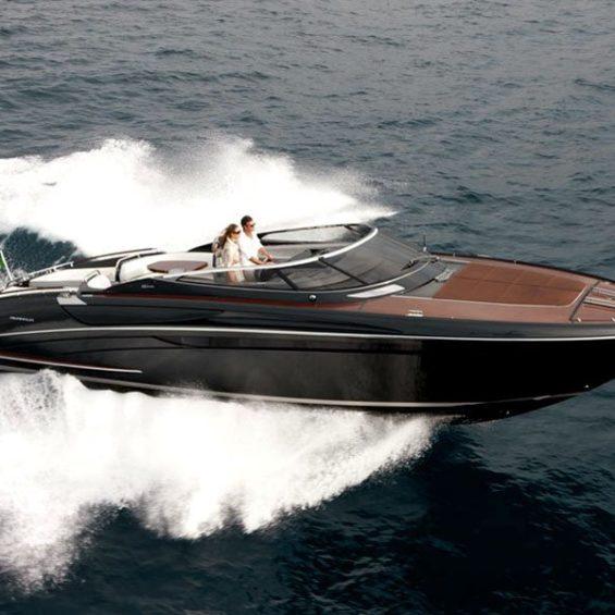 Riva chase boat rental Rivarama 44 hire Cannes