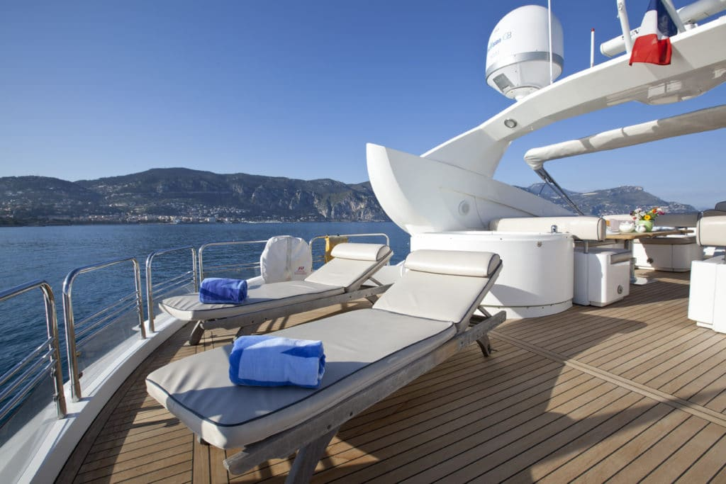 French Riviera Sunseeker superyacht charter Monaco