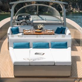 yacht rental Saint Tropez Alen 55