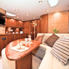 Boat Hire Nice Sunseeker yacht rental Portofino 53