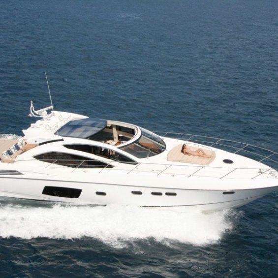 yacht charter Sunseeker Predator 64