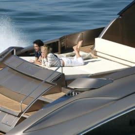 Rent luxury tender Riva Rivale