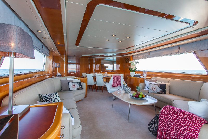 SanLorenzo Solal yacht charter Cannes