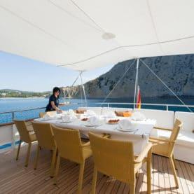 Ibiza charter yacht