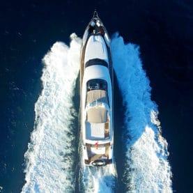Ibiza motor yacht charter Seven C