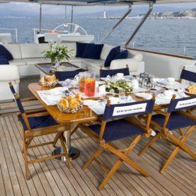 Luxury Sailing Yacht Charter Tenaz
