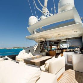 Sunseeker yacht charter Ibiza , Alvium Sunseeker Predator