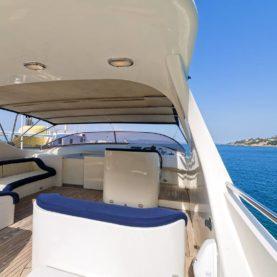 Rome luxury yacht charter: Bugia