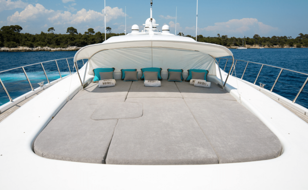 Mangusta 108 yacht for charter French Riviera