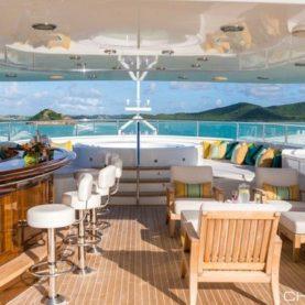 Burger Yacht Charter MIM sun deck