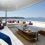 Abeking & Rasmussen Charter Yacht Excellence V Bridge Deck Seating