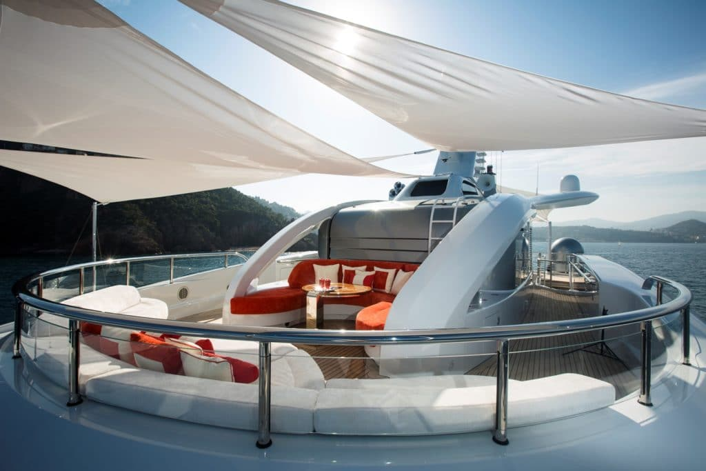 Abeking & Rasmussen Charter Yacht Excellence V Forward