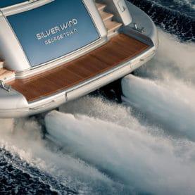 Silver Wind Isa Charter Yacht underway