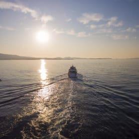 Super yacht Project steel in Greece