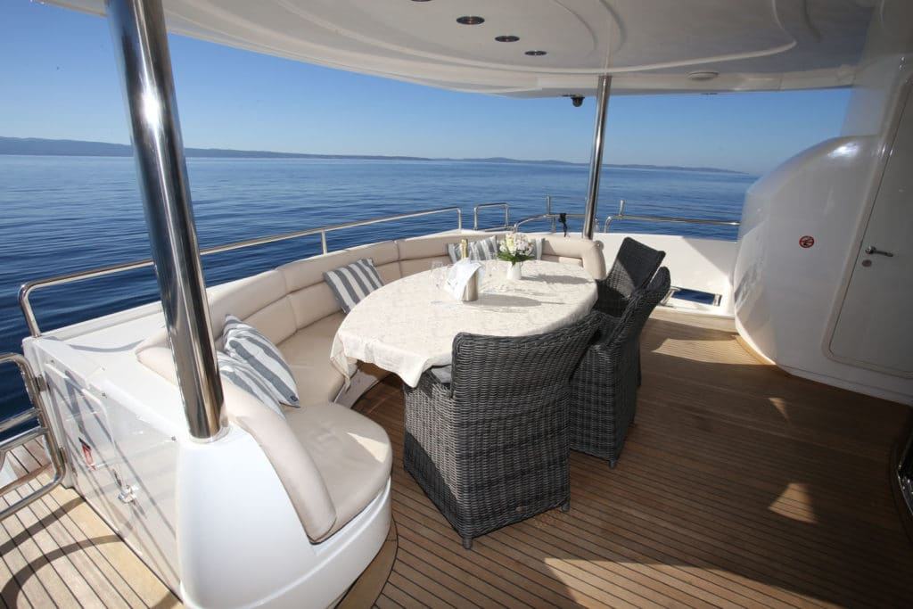 Aft of Yacht
