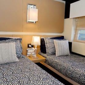 Motor yacht Makani - twin cabin