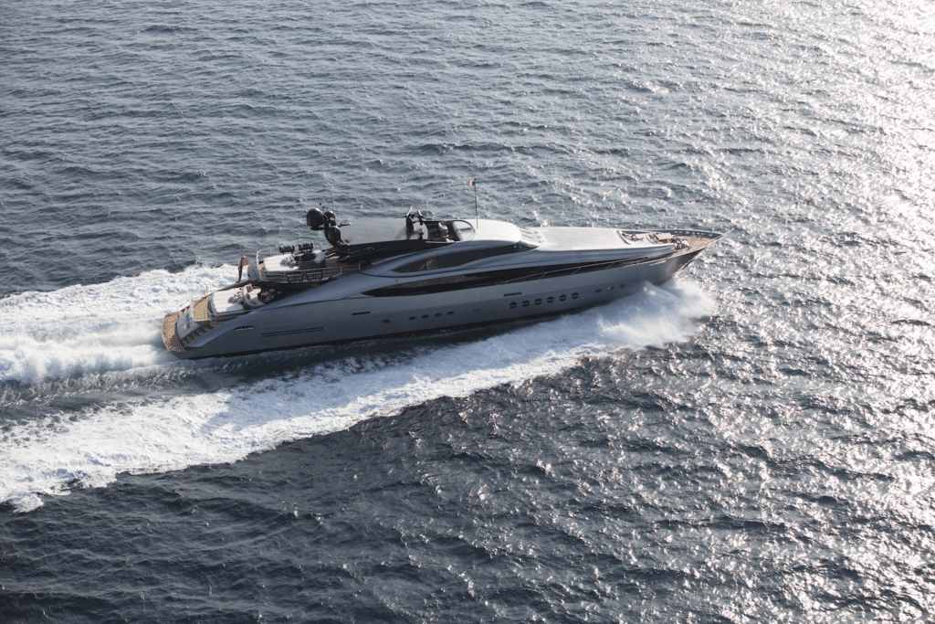 French Superyacht Silver Wave