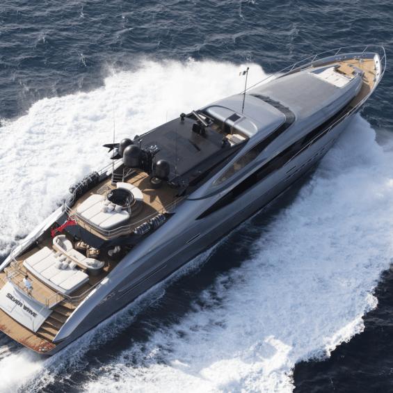 Superyacht Silver wave