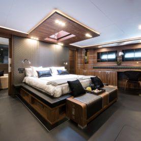 Sailing yacht Rox star - master cabin
