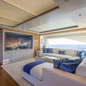 Galaxy yacht sky lounge