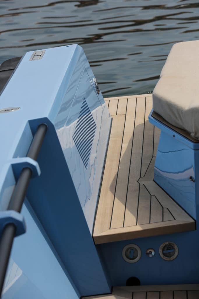 Motor boat Wally 45